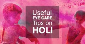 Best eye care tips for a safe Holi